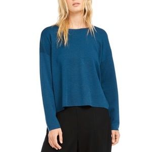 EILEEN FISHER Crewneck Merino Wool Sweater